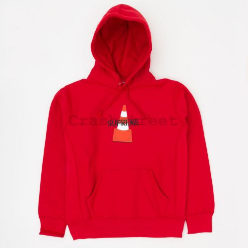 Cone Hooded Sweatshirt - Red