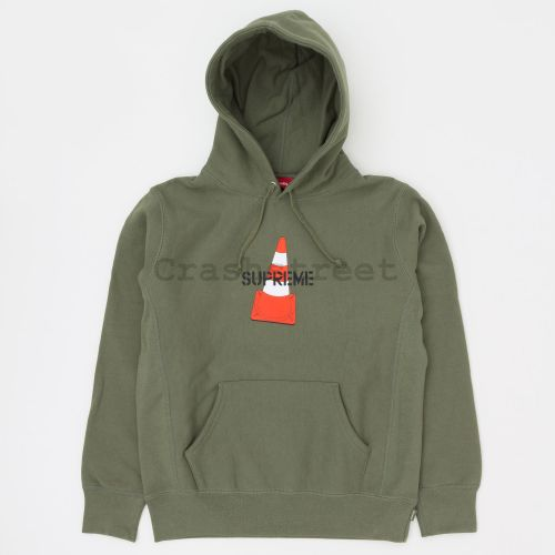 Cone Hooded Sweatshirt - Olive