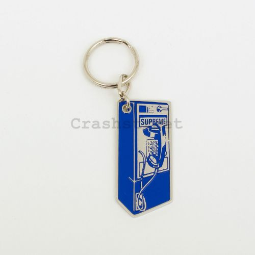 Payphone Keychain in Blue