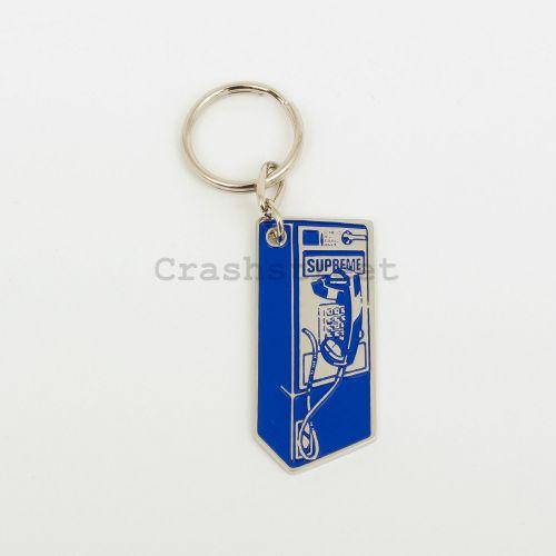Payphone Keychain - Blue