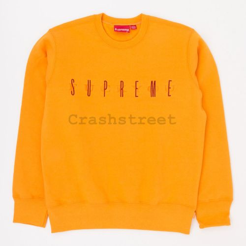 Fuck You Crewneck in Orange