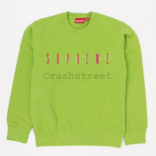 Fuck You Crewneck in Green