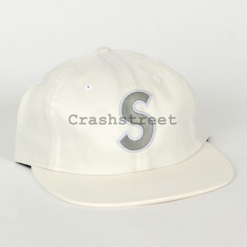 3M® Reflective S Logo 6-Panel - White