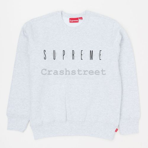 Fuck You Crewneck - Grey