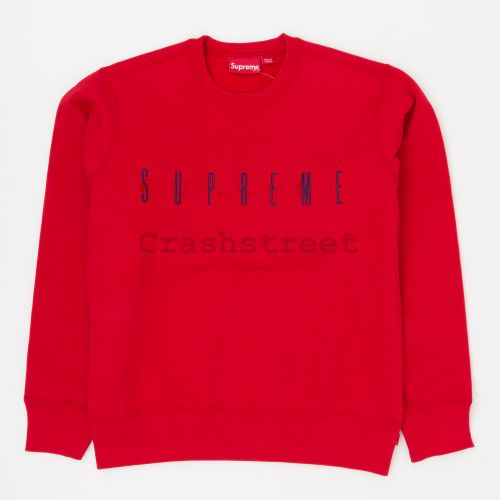 Fuck You Crewneck - Red