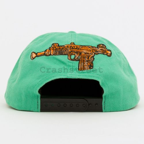 Toy Uzi 6-Panel in Teal