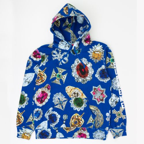 Jewels Hooded Sweatshirt - Navy