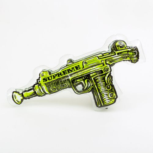 Toy Uzi Inflatable Pillow - Green