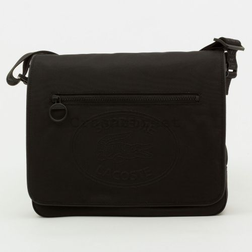 Lacoste Small Messenger Bag - Black