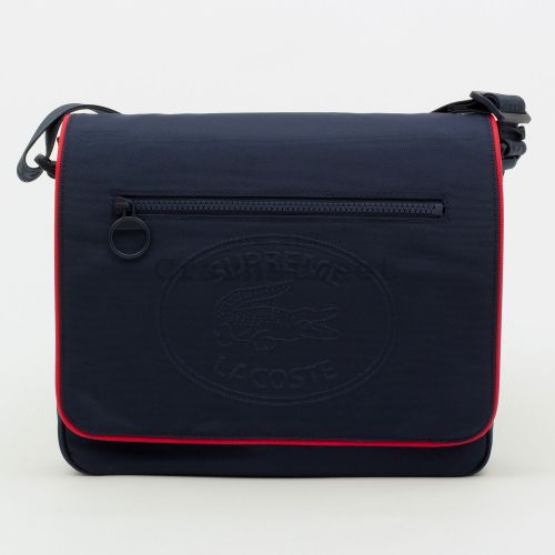 Lacoste Small Messenger Bag in Navy