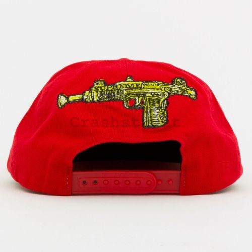 Toy Uzi 6-Panel in Red