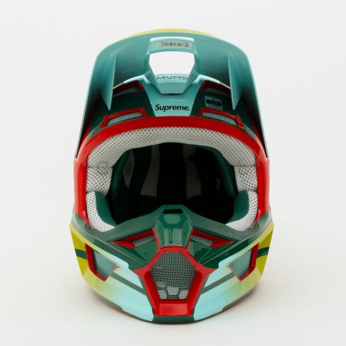 Honda Fox Racing V1 Helmet - Moss