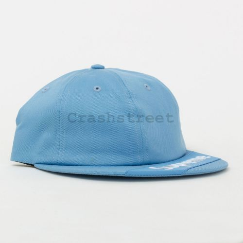 Visor Label 6-Panel in Blue