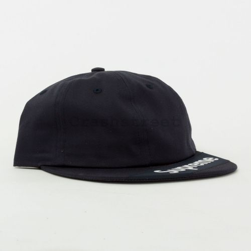 Visor Label 6-Panel - Navy