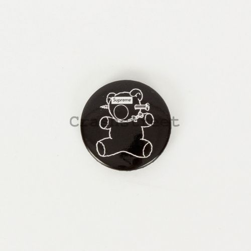 Undercover Bear Button Pin