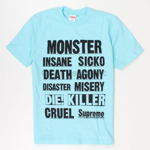 Monster Tee in Turquois