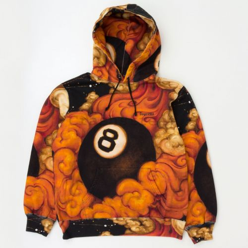 Martin Wong 8-Ball Hooded Sweatshirt