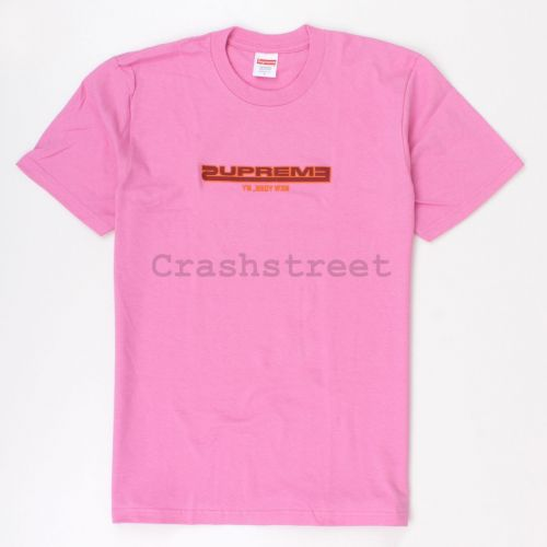 Connected Tee in Pink