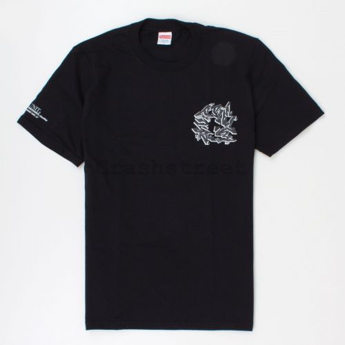 Support Unit Tee in Black
