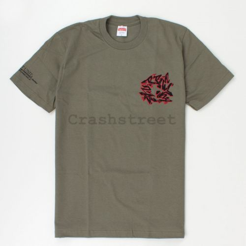 Support Unit Tee in Olive