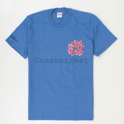 Support Unit Tee in Royal