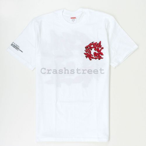 Support Unit Tee in White