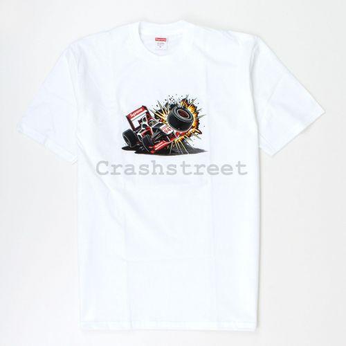 Crash Tee in White