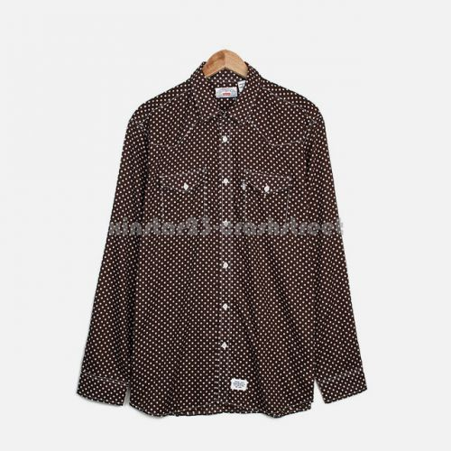 Lightweight Western Shirt in Brown