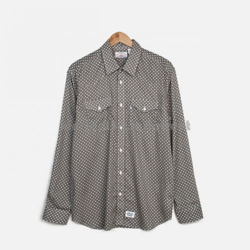 Lightweight Western Shirt in Grey