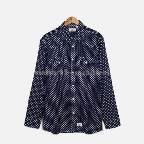 Lightweight Western Shirt in Navy
