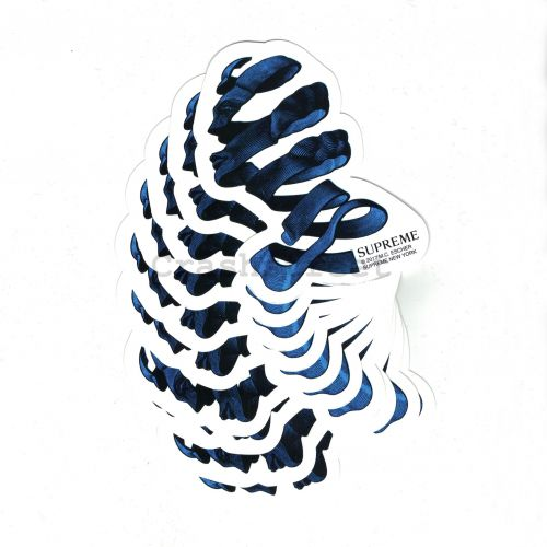 M.C. Escher Ribbon Sticker (Set of 10) in Blue