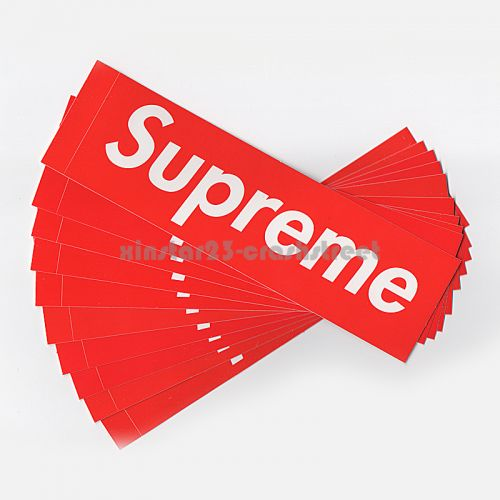 Exclusive Box Logo Sticker - Bulk Set of 10