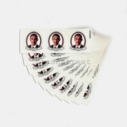 Obama Mini Sticker  (set 0f 10)
