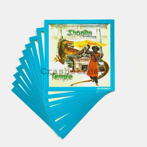 Barrington Levy & Jah Life Shaolin Sticker (Set of 10)